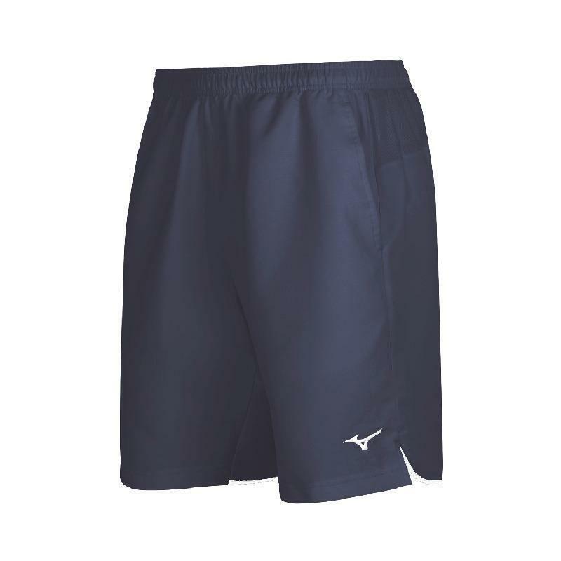 mizuno mizuno pantaloncino tennis hex rect blu
