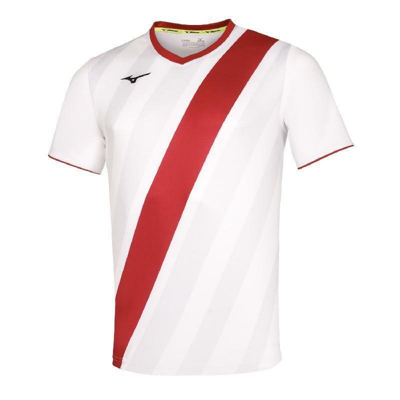 mizuno mizuno maglia calcio osaka bianco/rosso