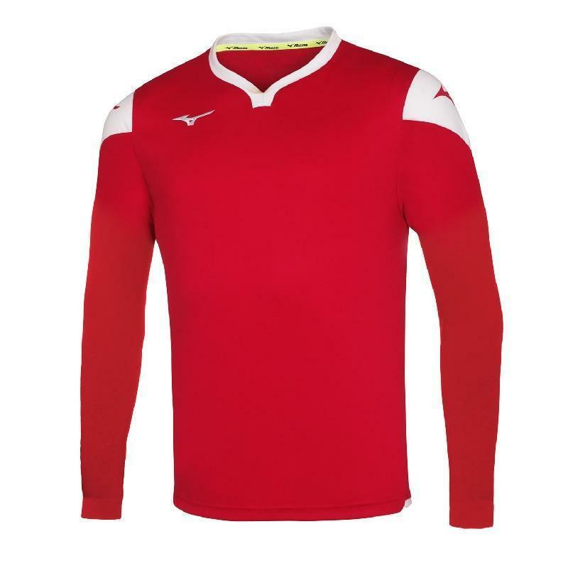mizuno mizuno maglia calcio bambino rosso