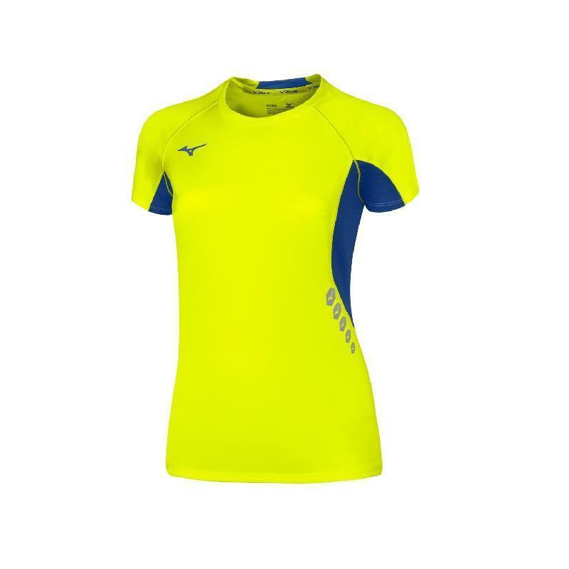 mizuno mizuno maglia donna running premium jpn giallo