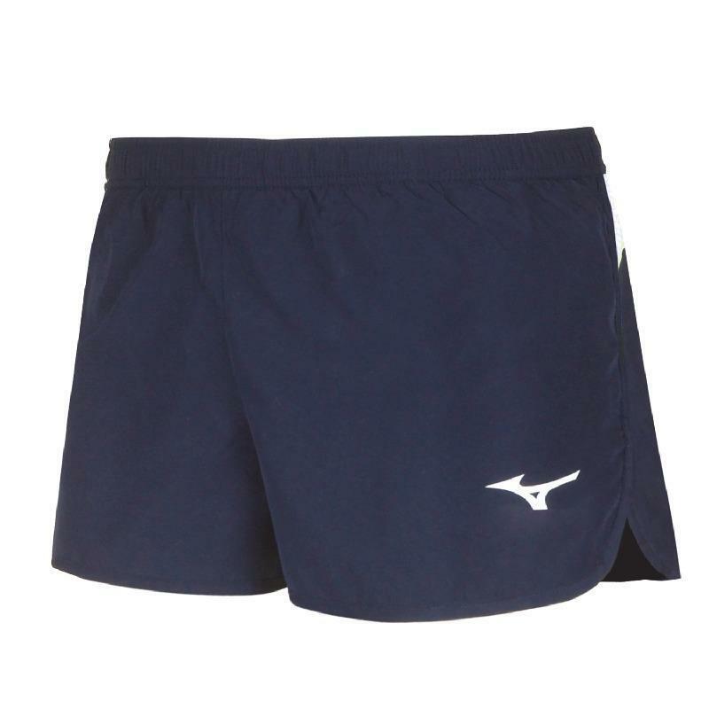 mizuno mizuno pantaloncino running premium blu