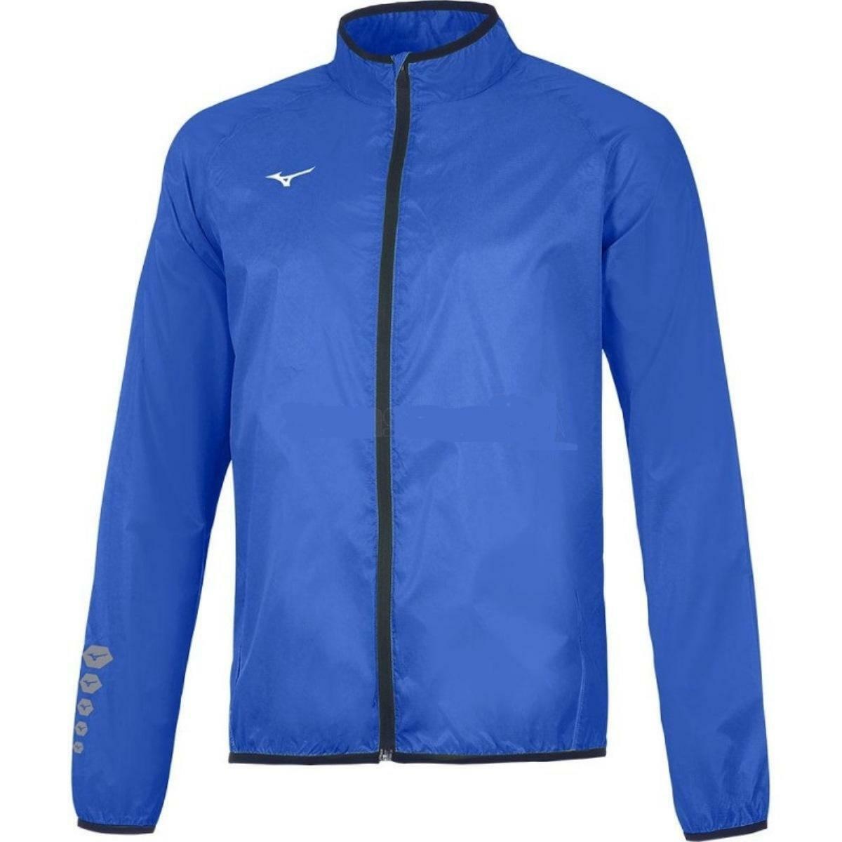 mizuno mizuno giacca running authentic azzurro