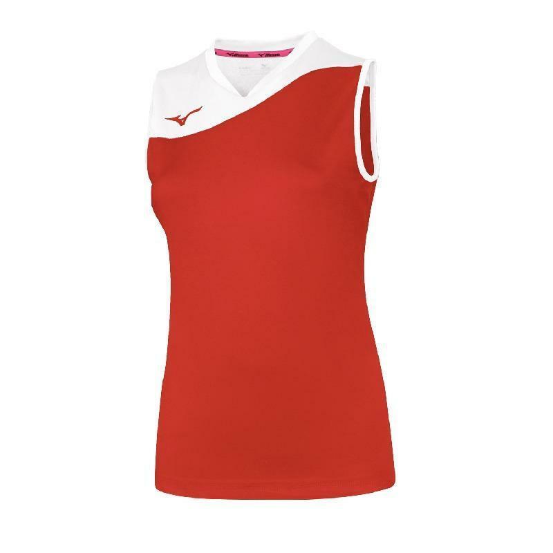 mizuno mizuno maglia donna volley myou rosso