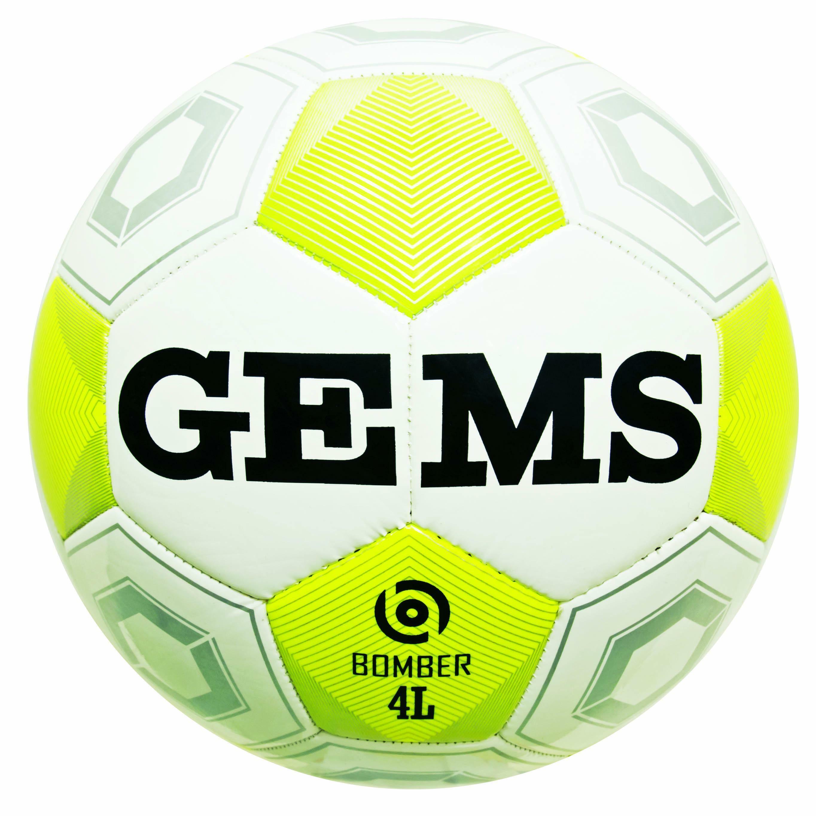 gems gems pallone bomber 4 light - bianco