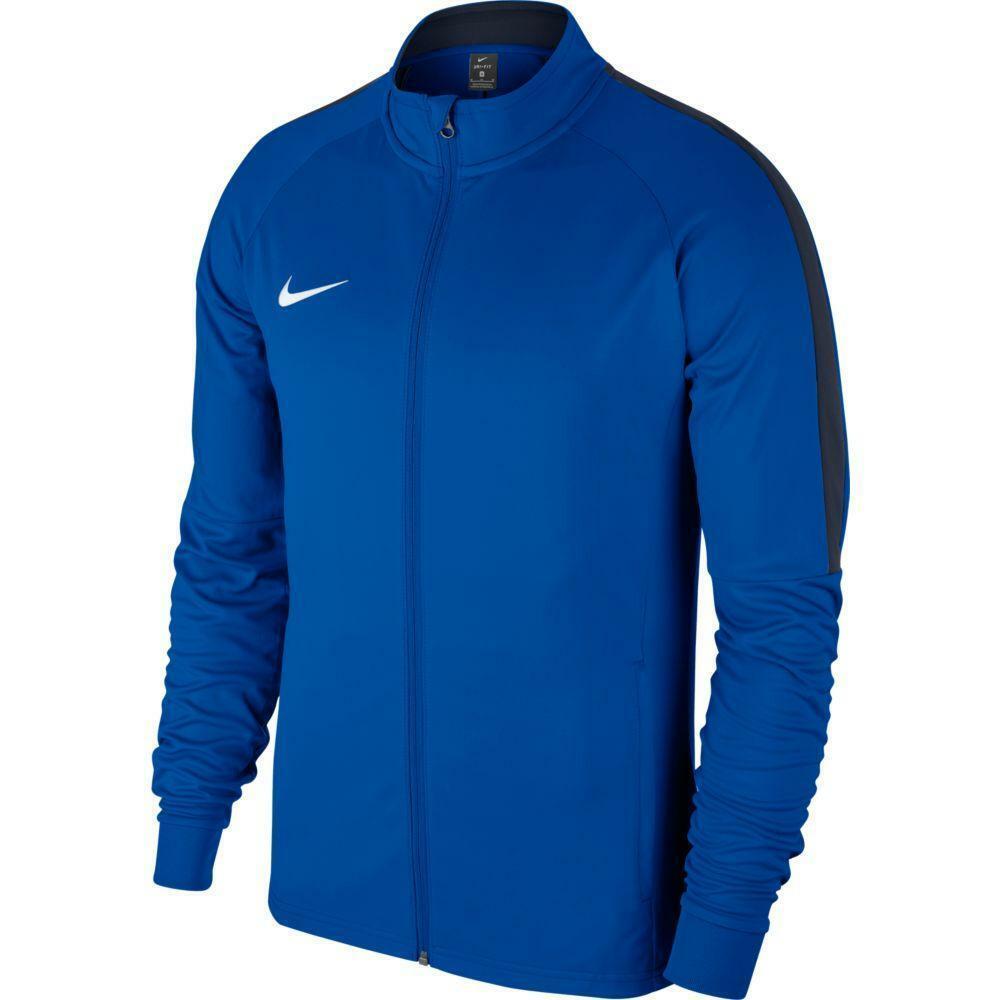 nike nike giacca tuta academy 18 azzurro