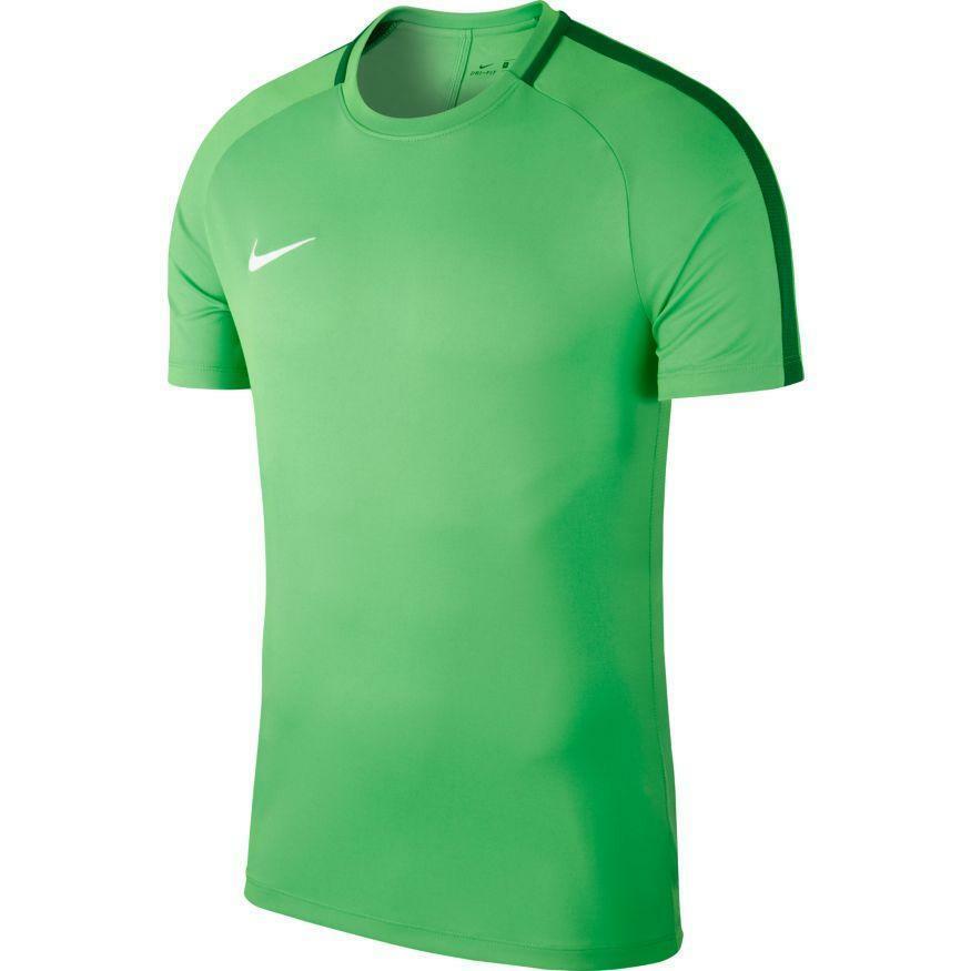 nike nike maglia calcio bambino academy 18 verde fluo