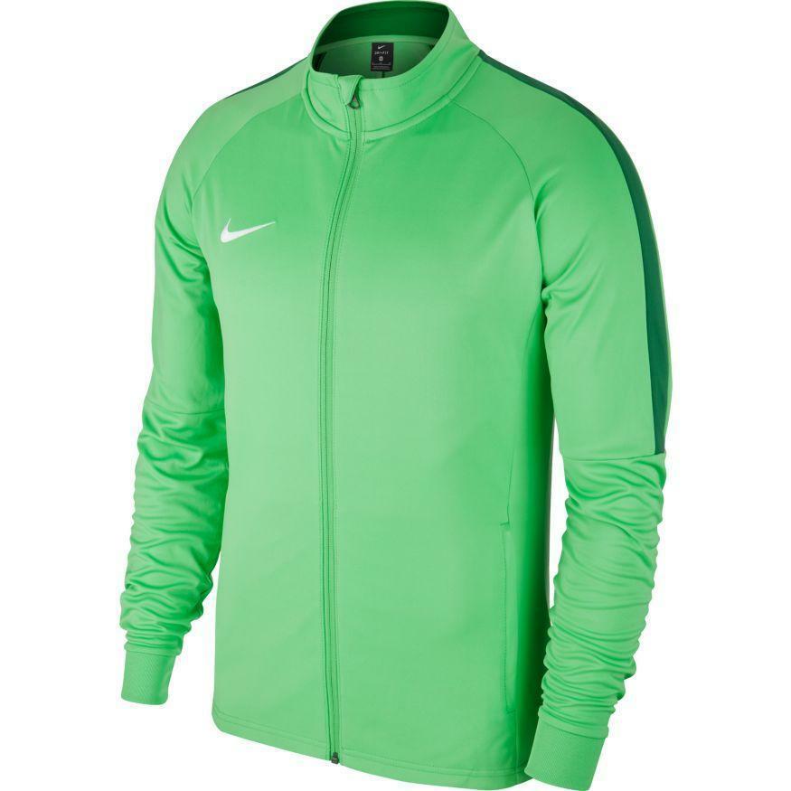 nike nike giacca bambino academy 18 verde fluo