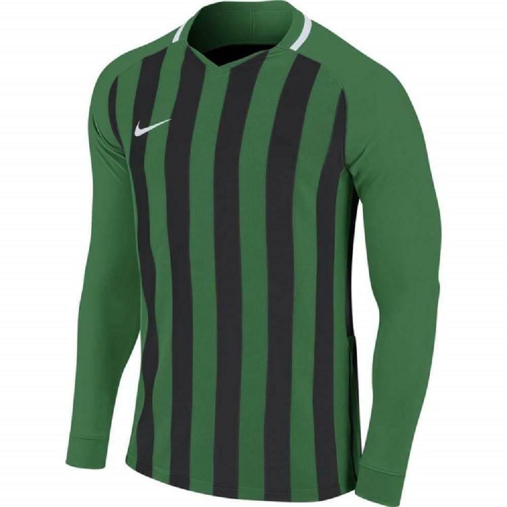nike nike maglia stripped ml iii bambino verde, nero
