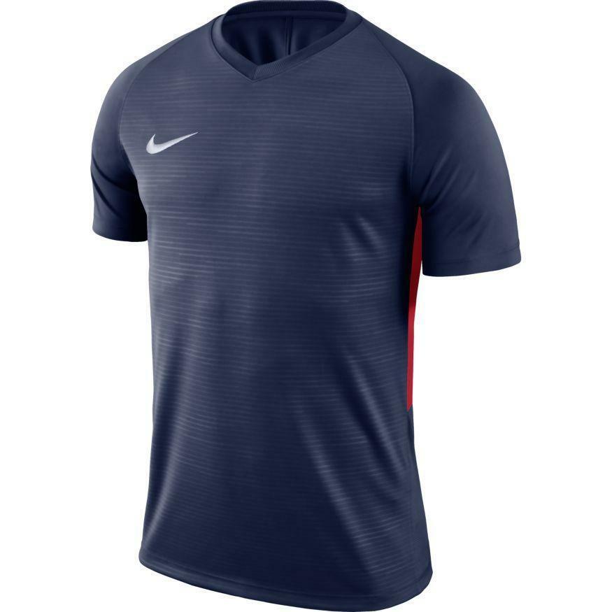 nike nike maglia calcio tiempo premier blu/rosso