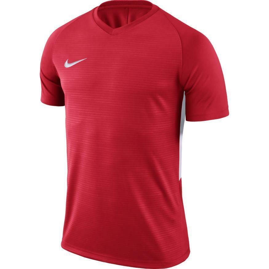 nike nike maglia calcio tiempo premier rosso/bianco