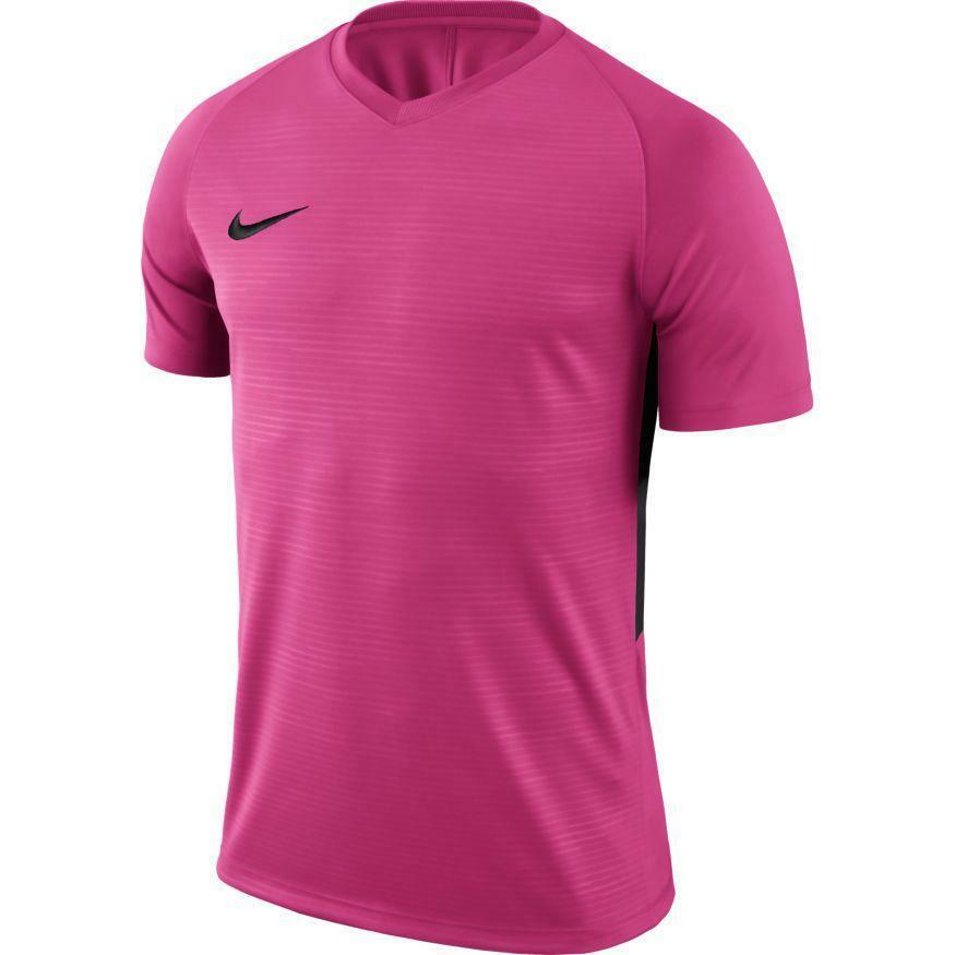 nike nike maglia calcio tiempo premier rosa/nero