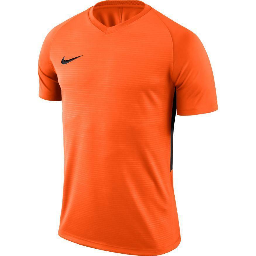nike nike maglia calcio tiempo premier arancio/nero