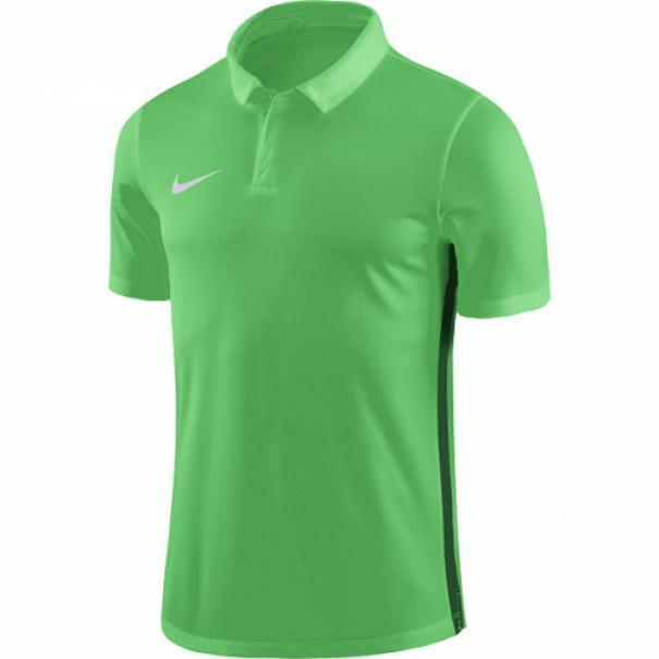 nike nike polo academy 18  verde fluo