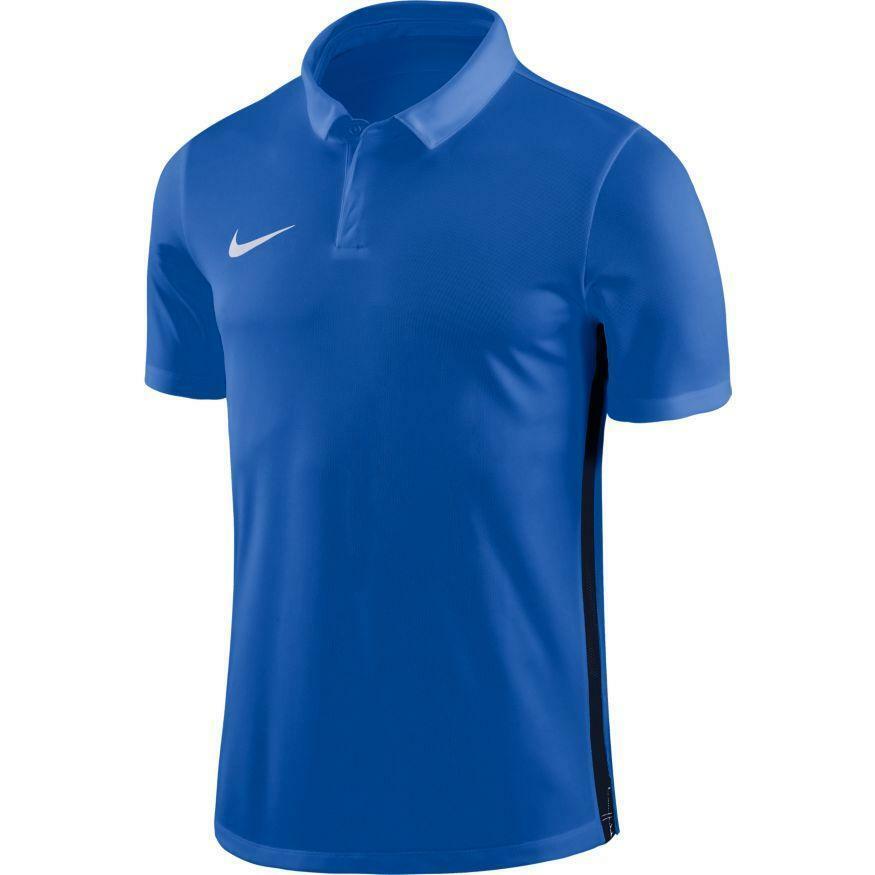 nike nike polo academy 18 azzurro