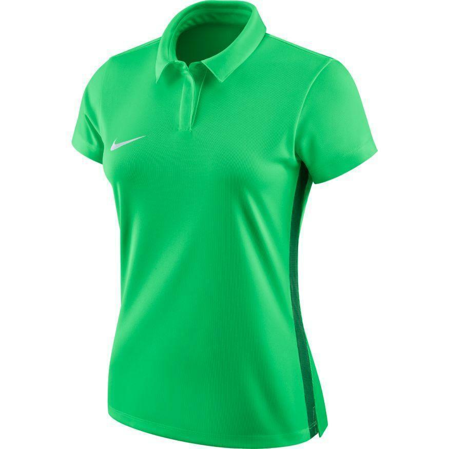 nike nike polo donna academy 18 verde fluo