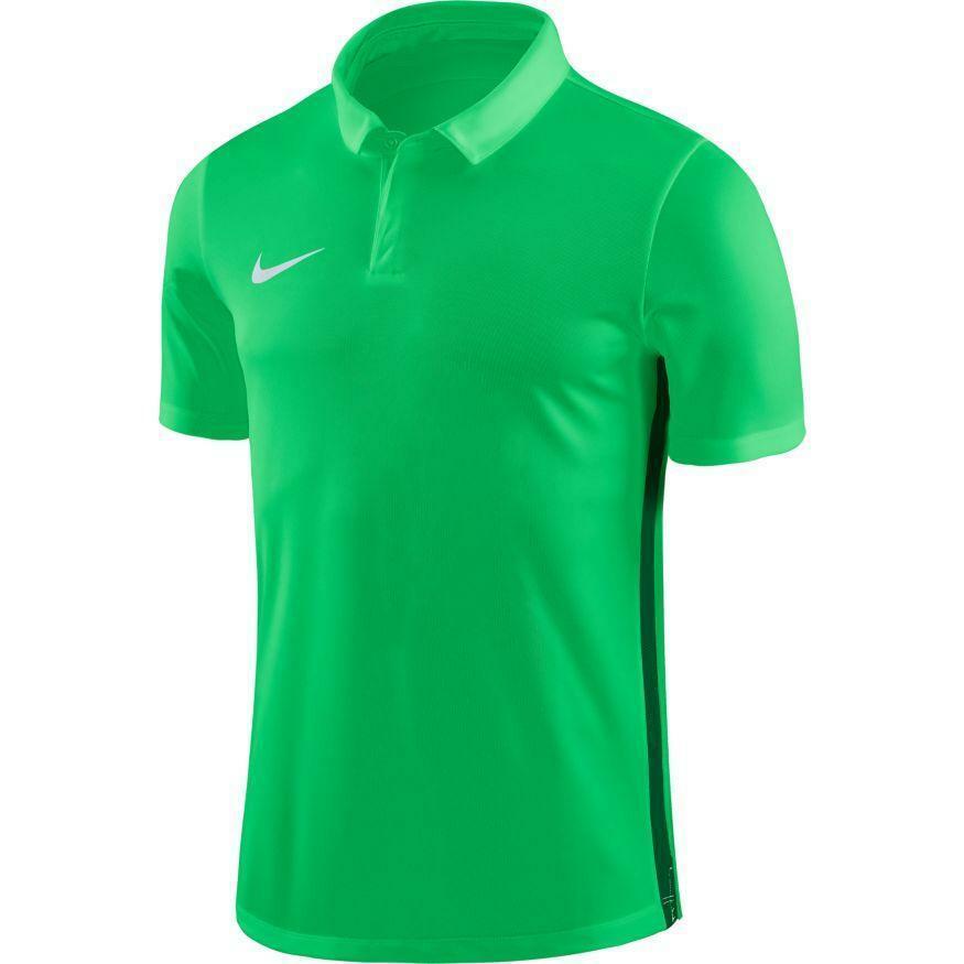 nike polo bambino academy 18 verde fluo