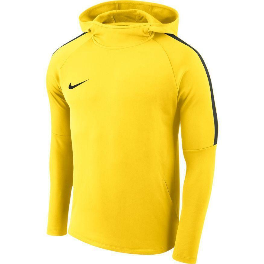 nike nike felpa academy 18 giallo