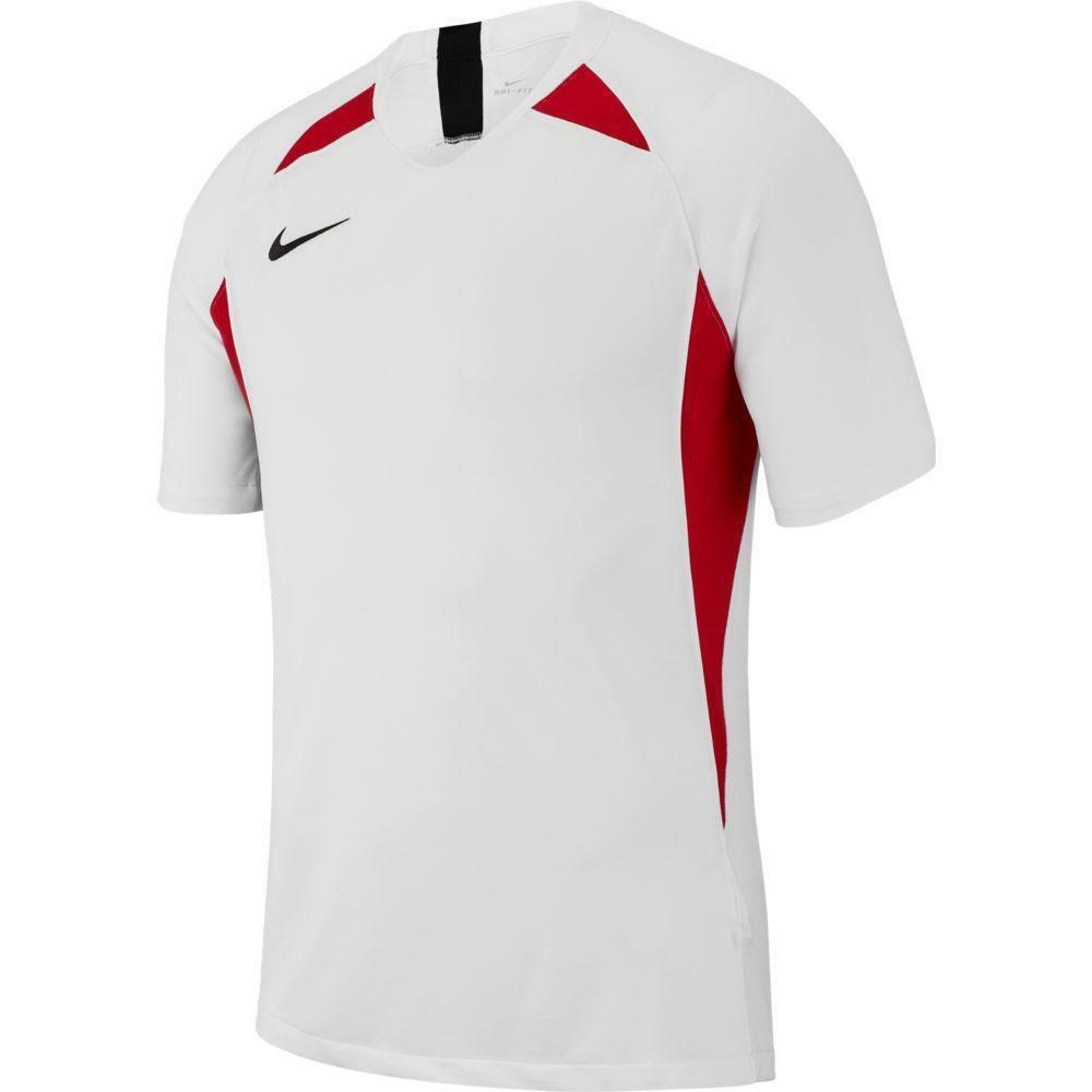 nike nike maglia legend bianco/rosso