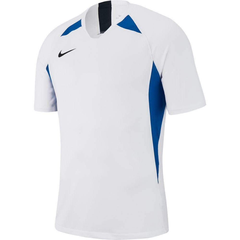 nike nike maglia bambino legend bianco/azzurro