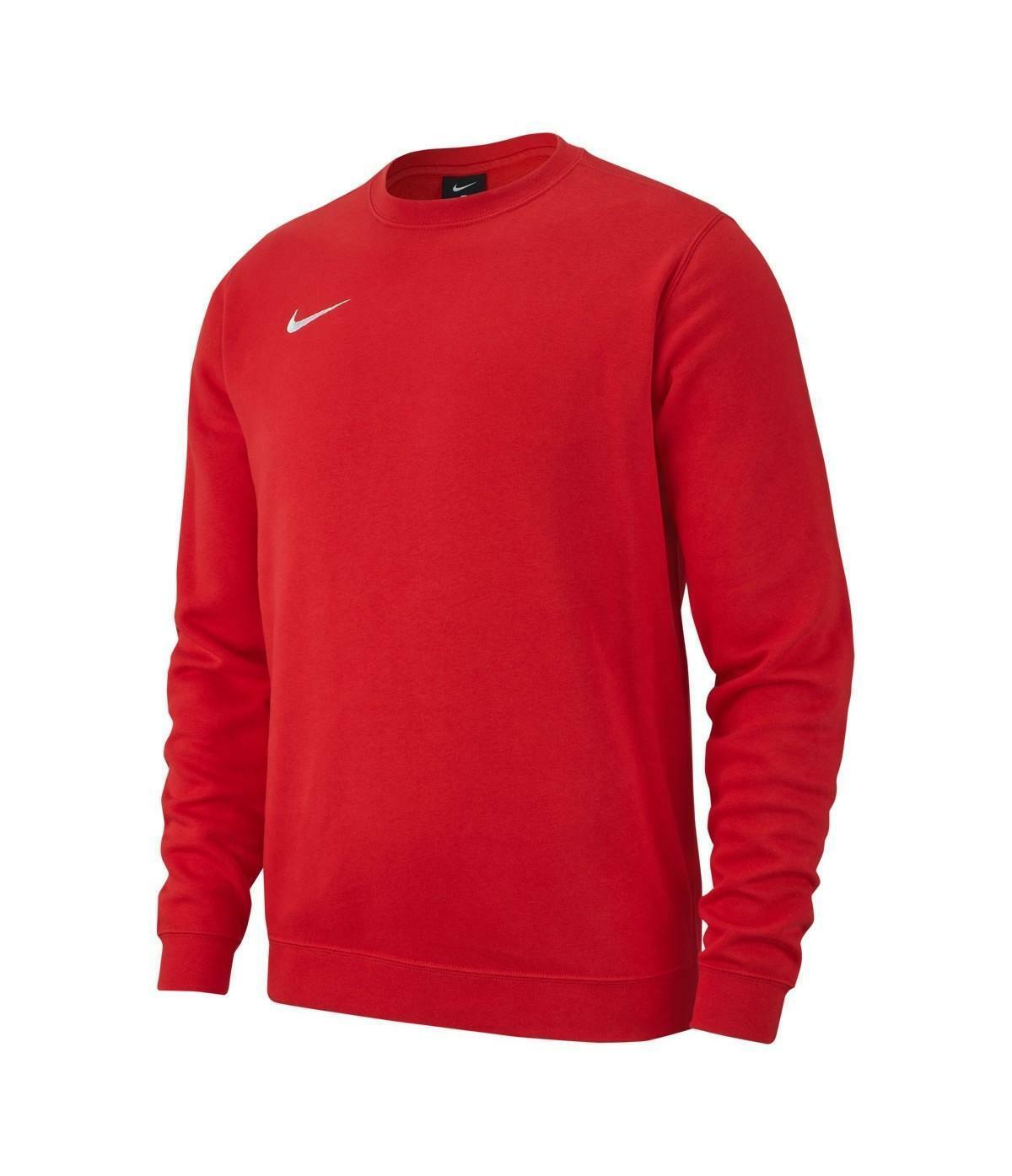 nike nike felpa bambino team club 19 rosso