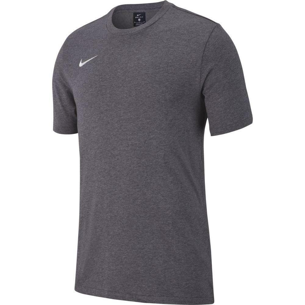 nike nike t-shirt bambino team club 19 grigio