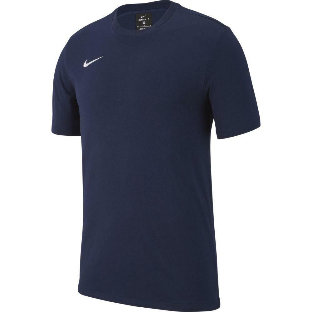 nike nike t-shirt bambino team club 19 blu