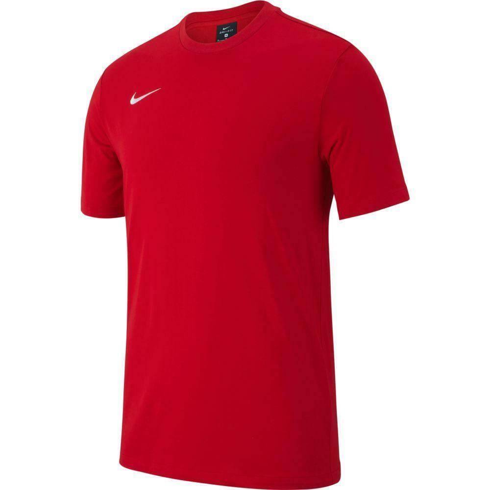 nike nike t-shirt bambino team club 19 rosso