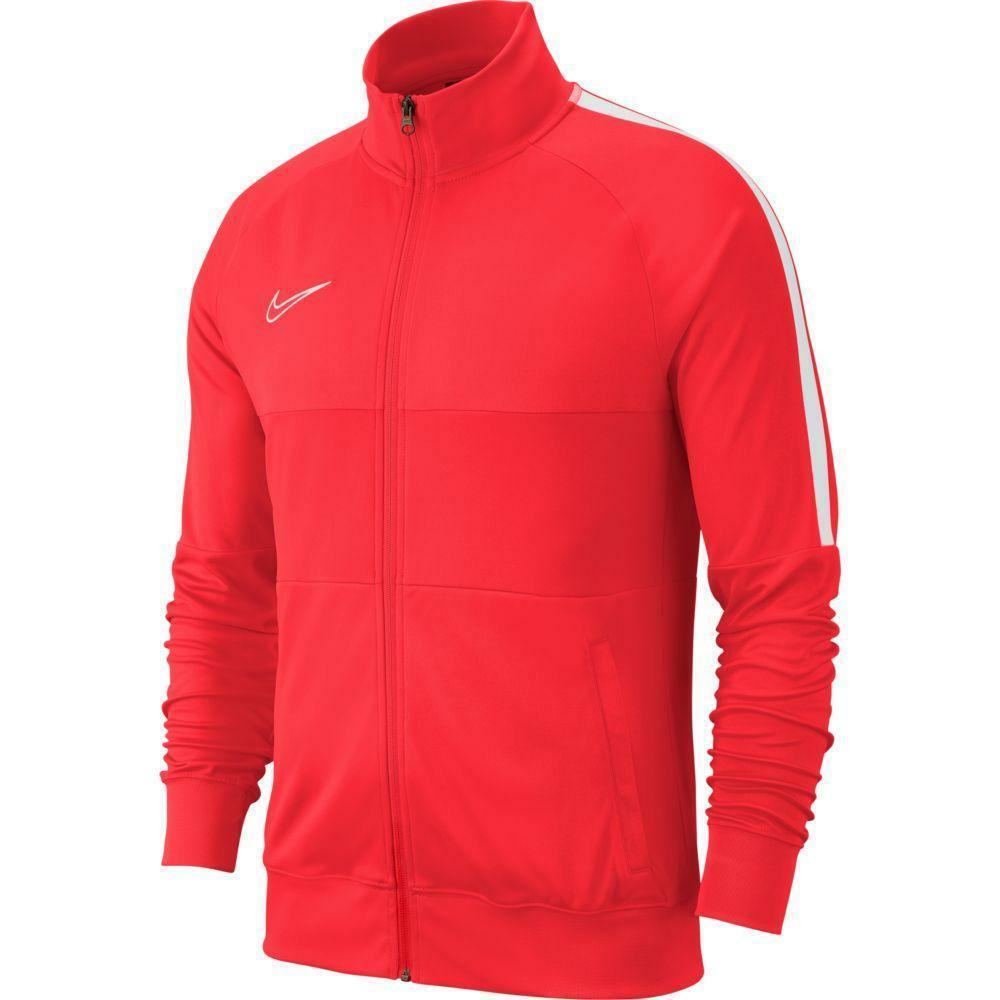 nike nike giacca tuta academy 19 rosso fluo