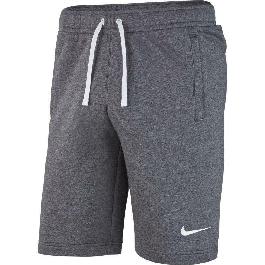 nike nike pantaloncino team club 19 grigio