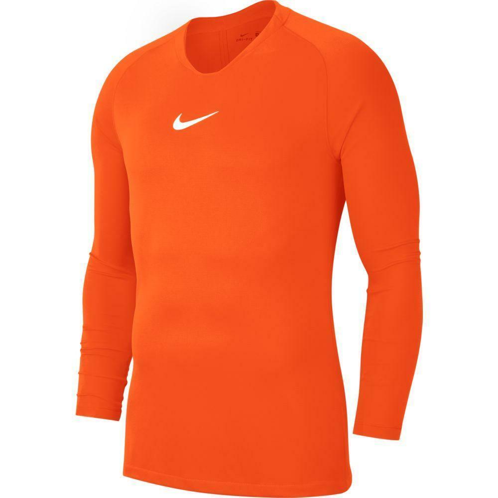 nike nike maglia termica park first layer  arancio