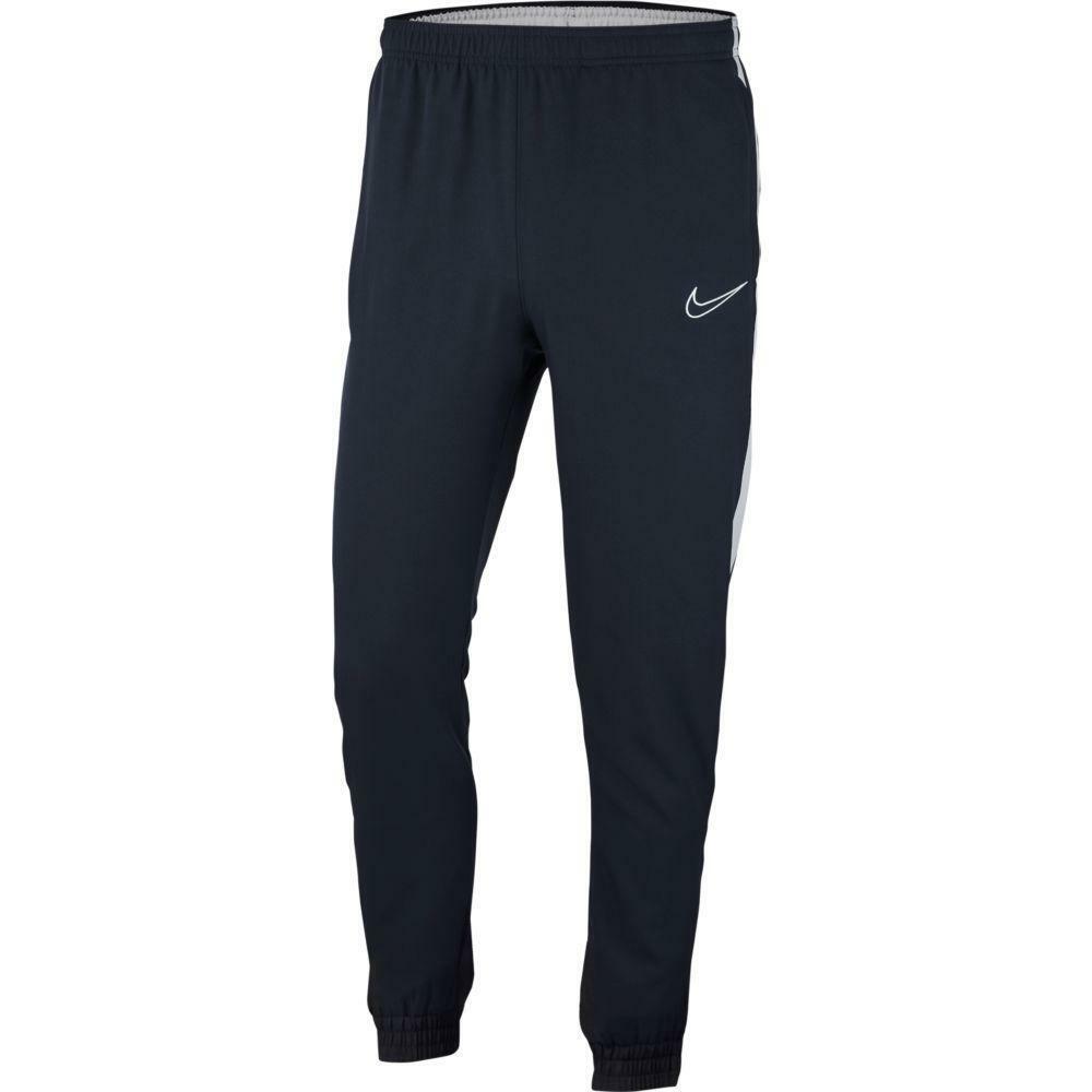 nike nike pantalone tuta academy woven 19 blu