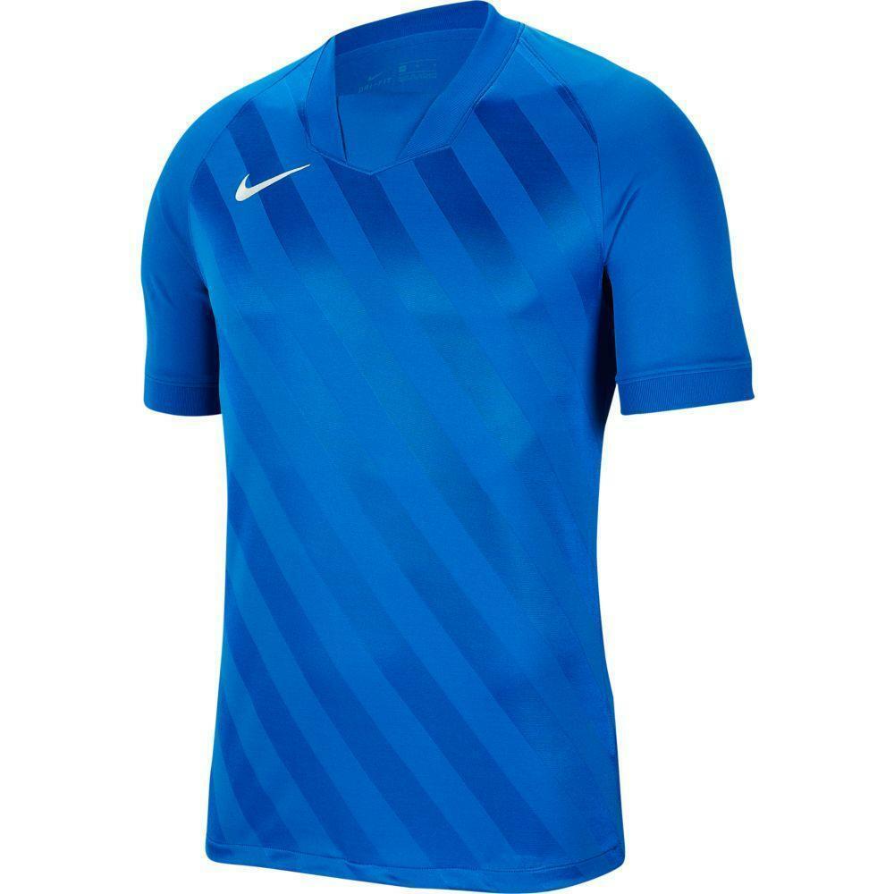 nike nike maglia challenge iii azzurro