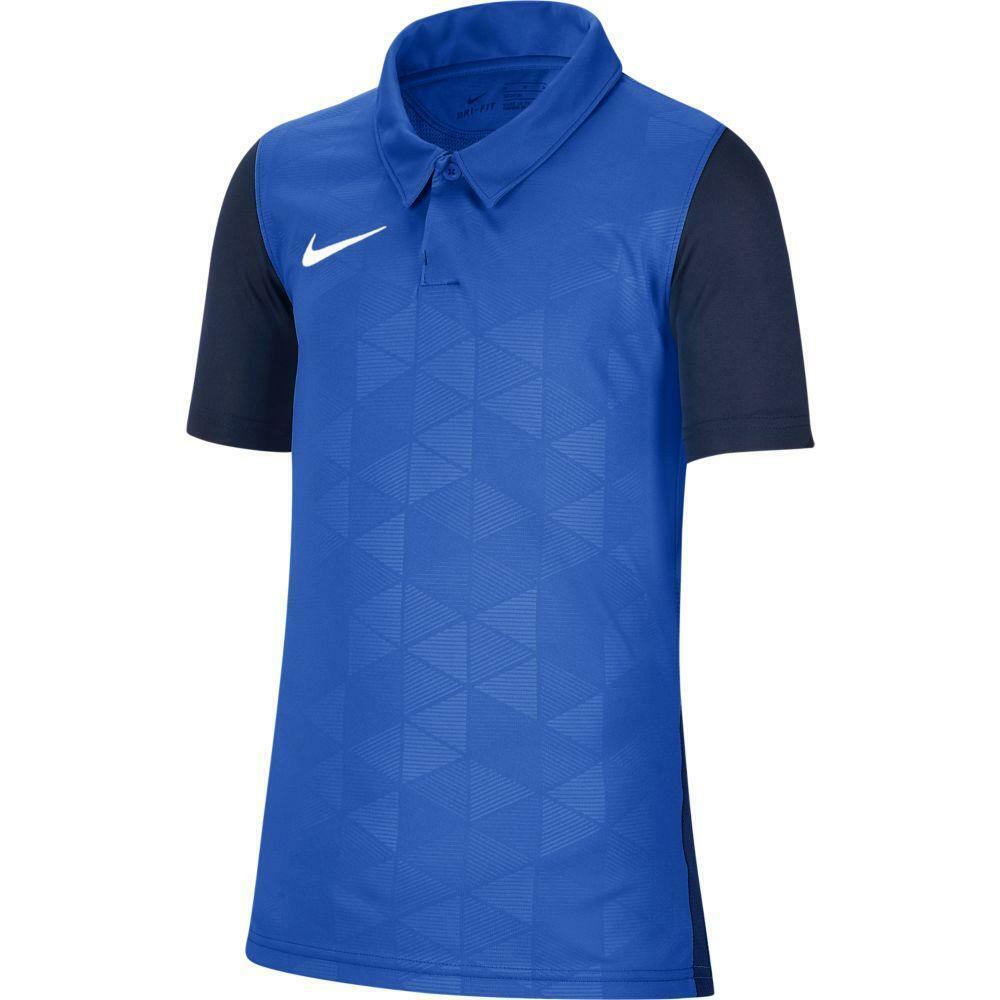 nike nike maglia trophy iv azzurro/blu