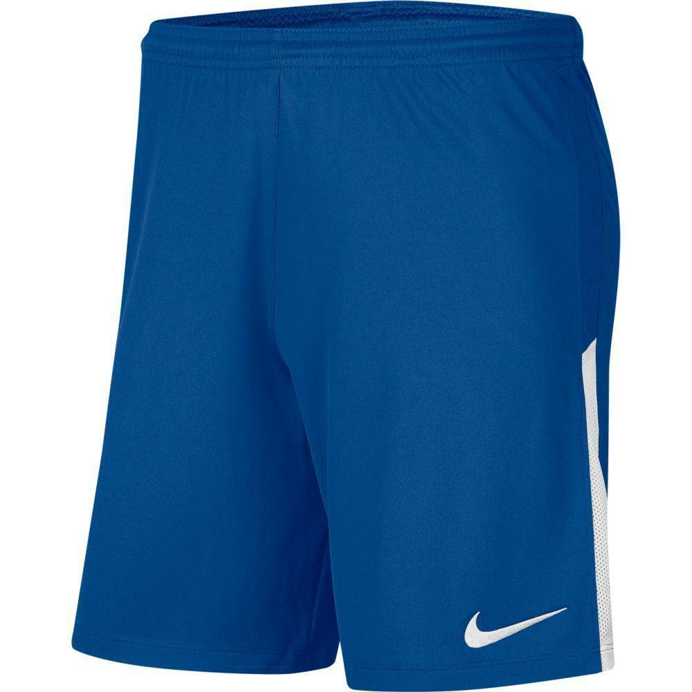 nike nike pantaloncino league knit ii blu elettrico