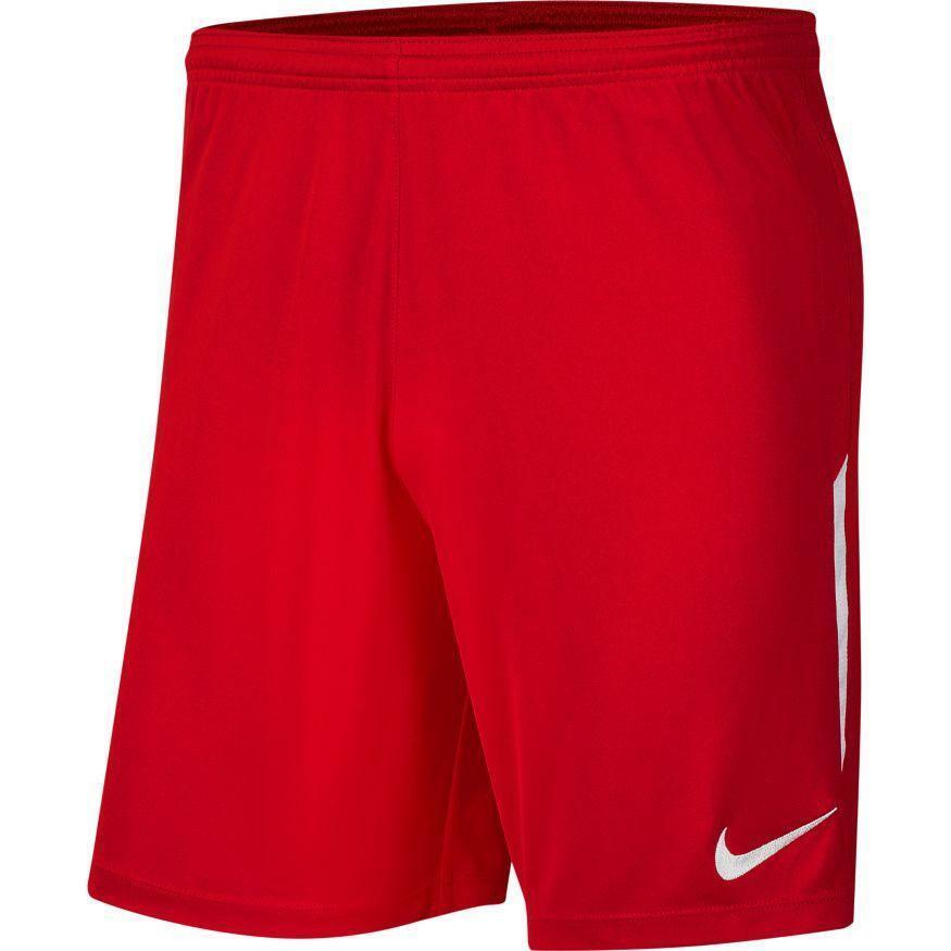 nike nike pantaloncino league knit ii rosso