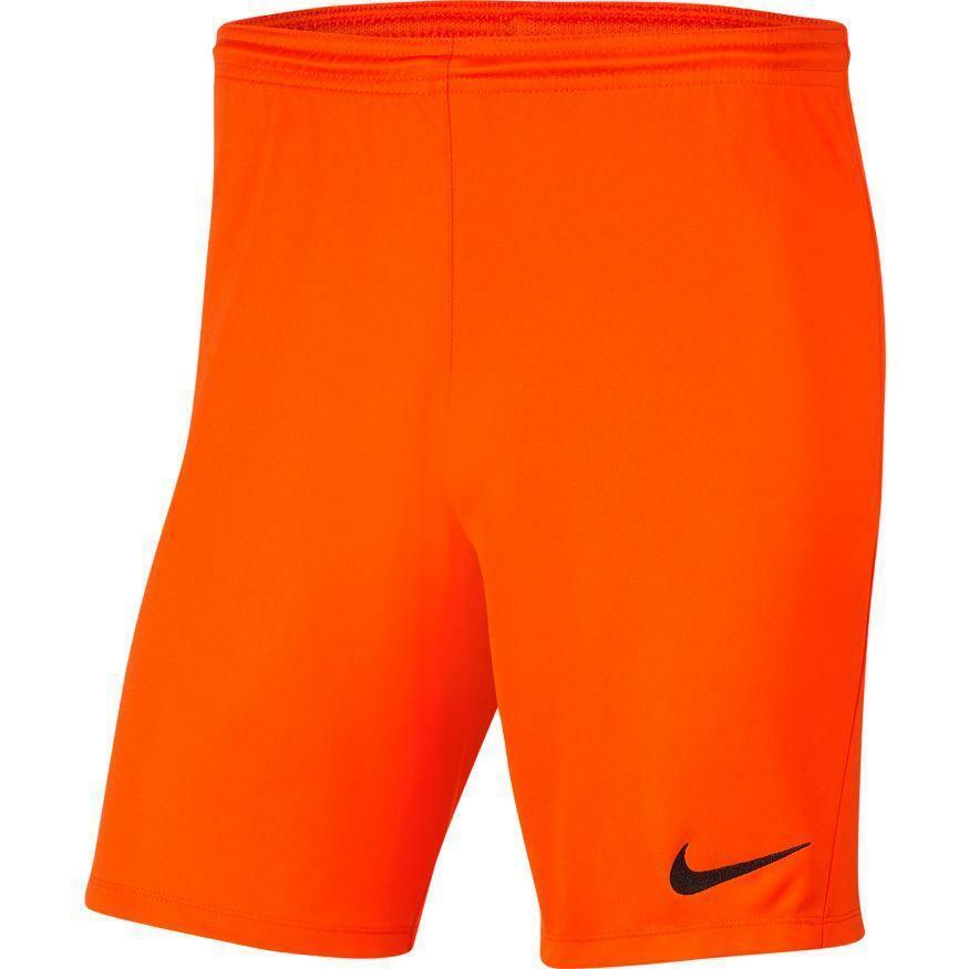 nike nike pantaloncino calcio park iii arancio