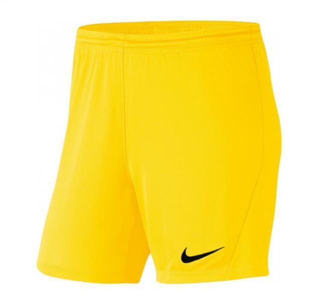 nike nike pantaloncino donna park iii giallo