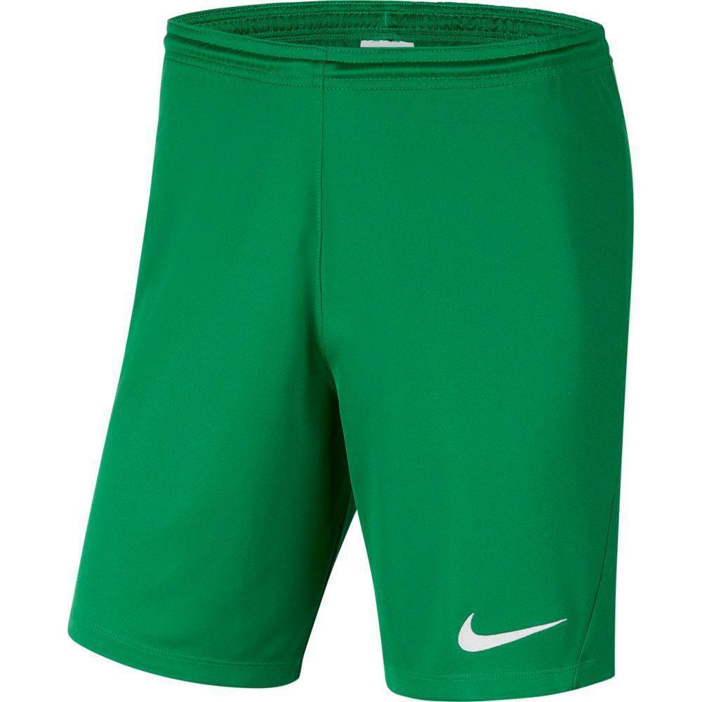 nike nike pantaloncino calcio bambino park iii verde