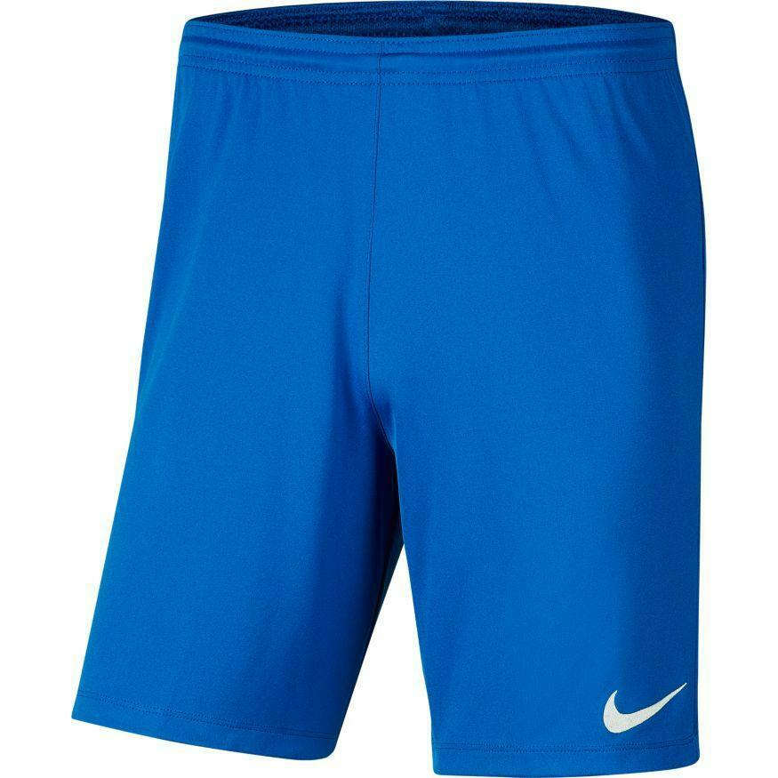 nike nike pantaloncino calcio bambino park iii azzurro