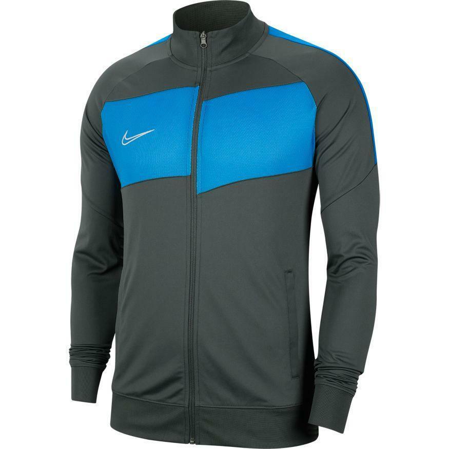 nike nike giacca tuta academy 20 azzurro