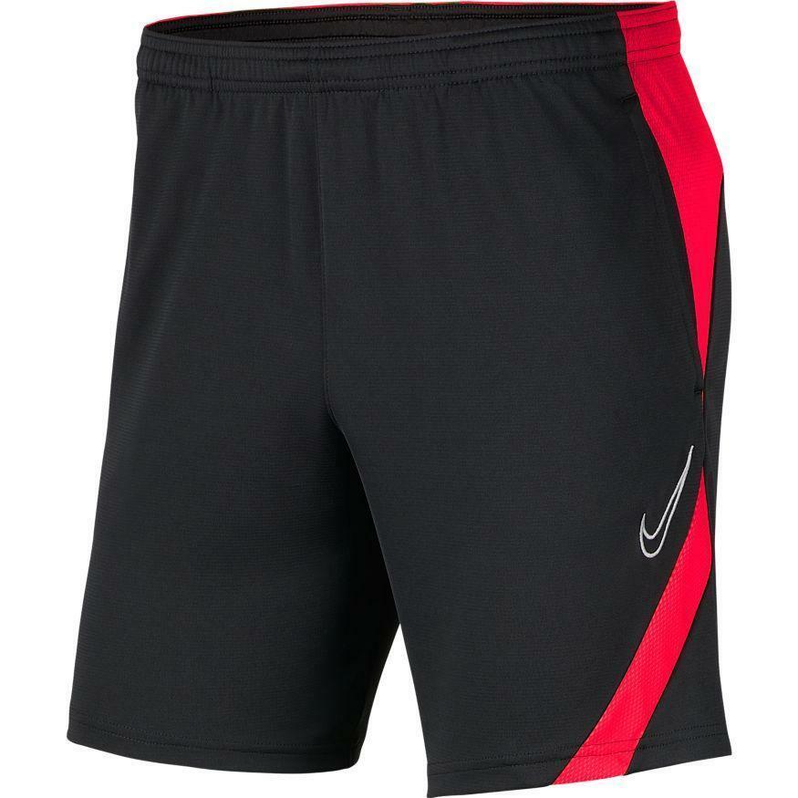 nike nike pantaloncino academy 20 rosso fluo