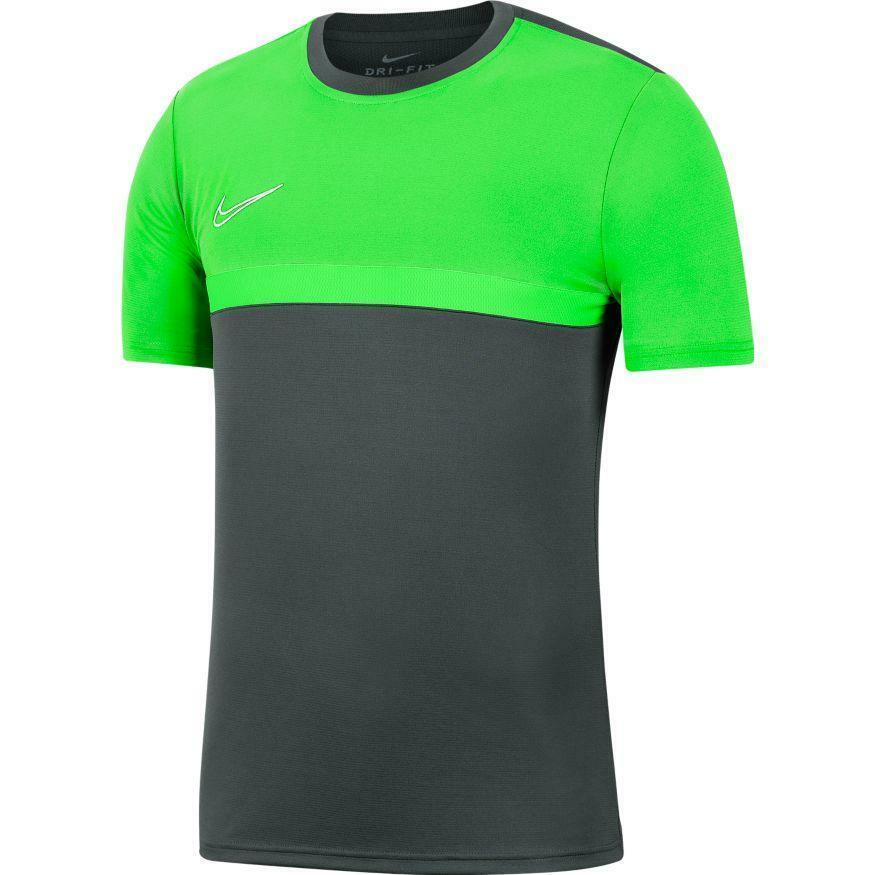nike nike maglia academy 20 verde fluo