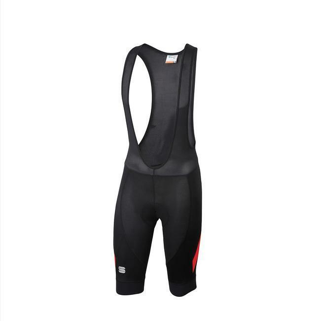 sportful sportful pantaloncino con bretelle neo bib short rosso