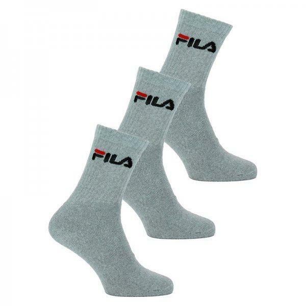 fila fila calza spugna grigio