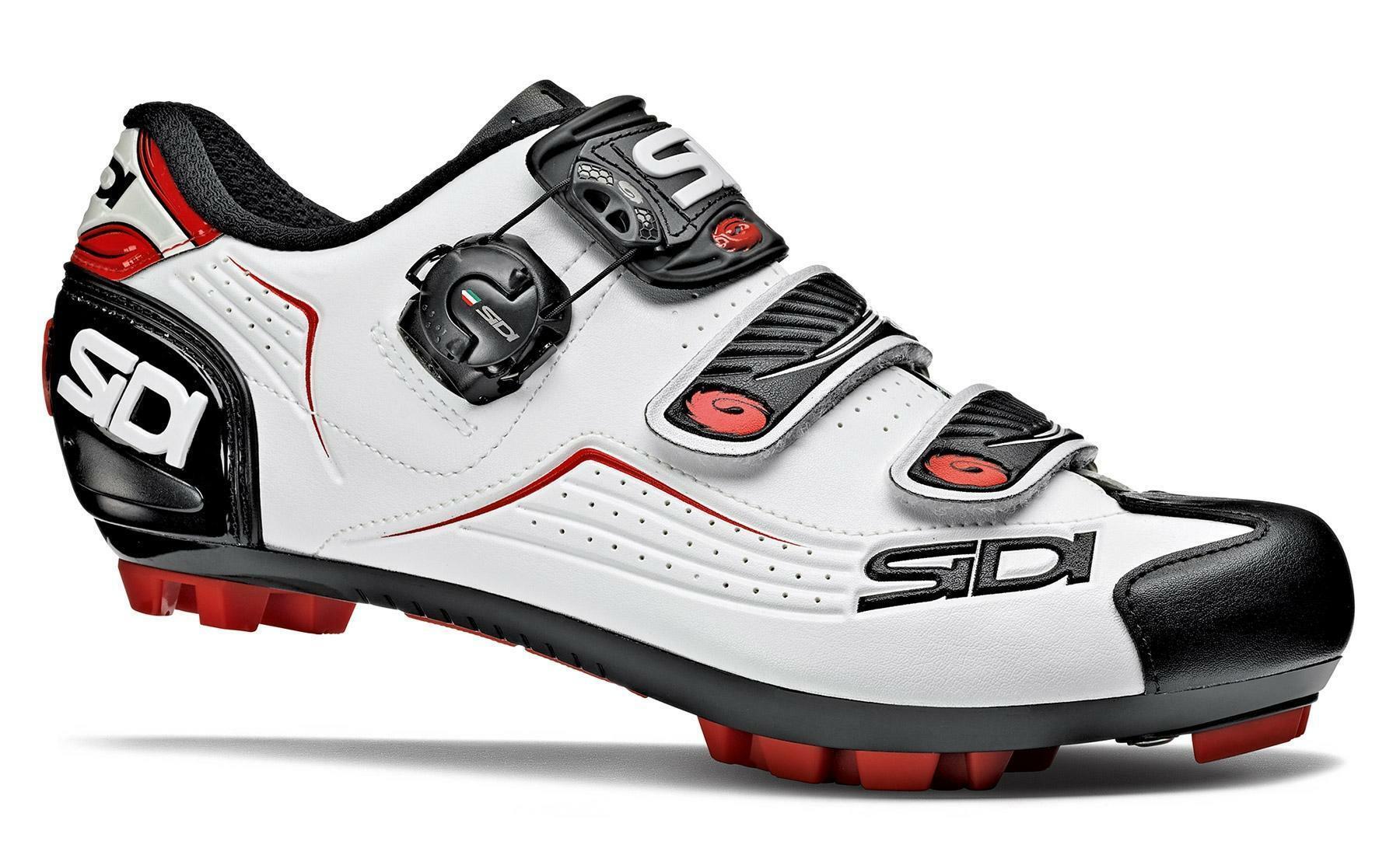 sidi sidi scarpa mtb trace 2 bianco/nero/rosso