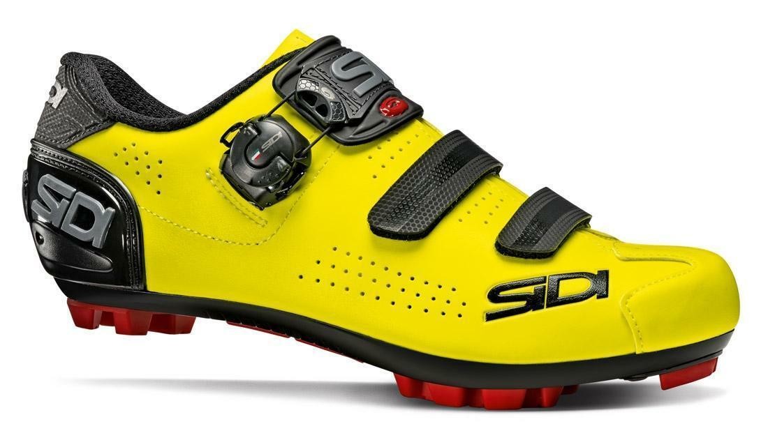 sidi sidi scarpa mtb trace 2 giallo fluo/nero