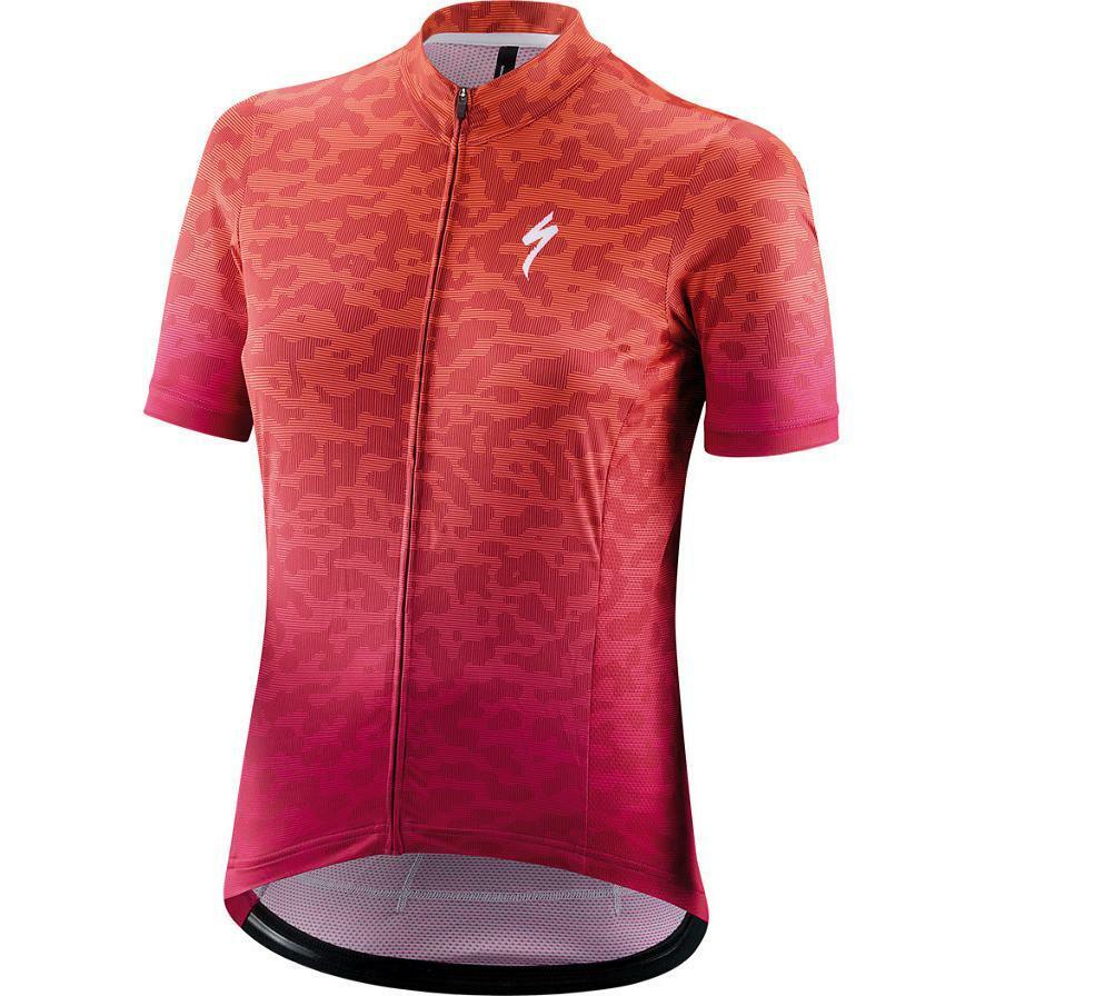 specialized specialized maglia donna mc rbx terrain lava/fucsia