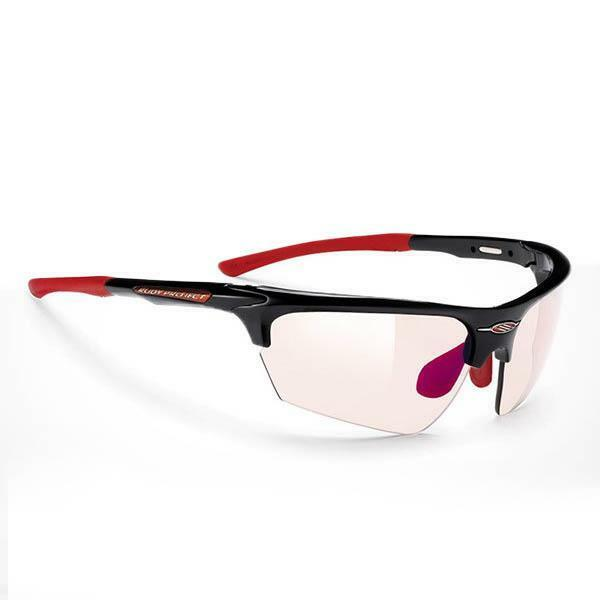 rudyproject rudyproject occhiale noyz black gloss imp-x2 laser red