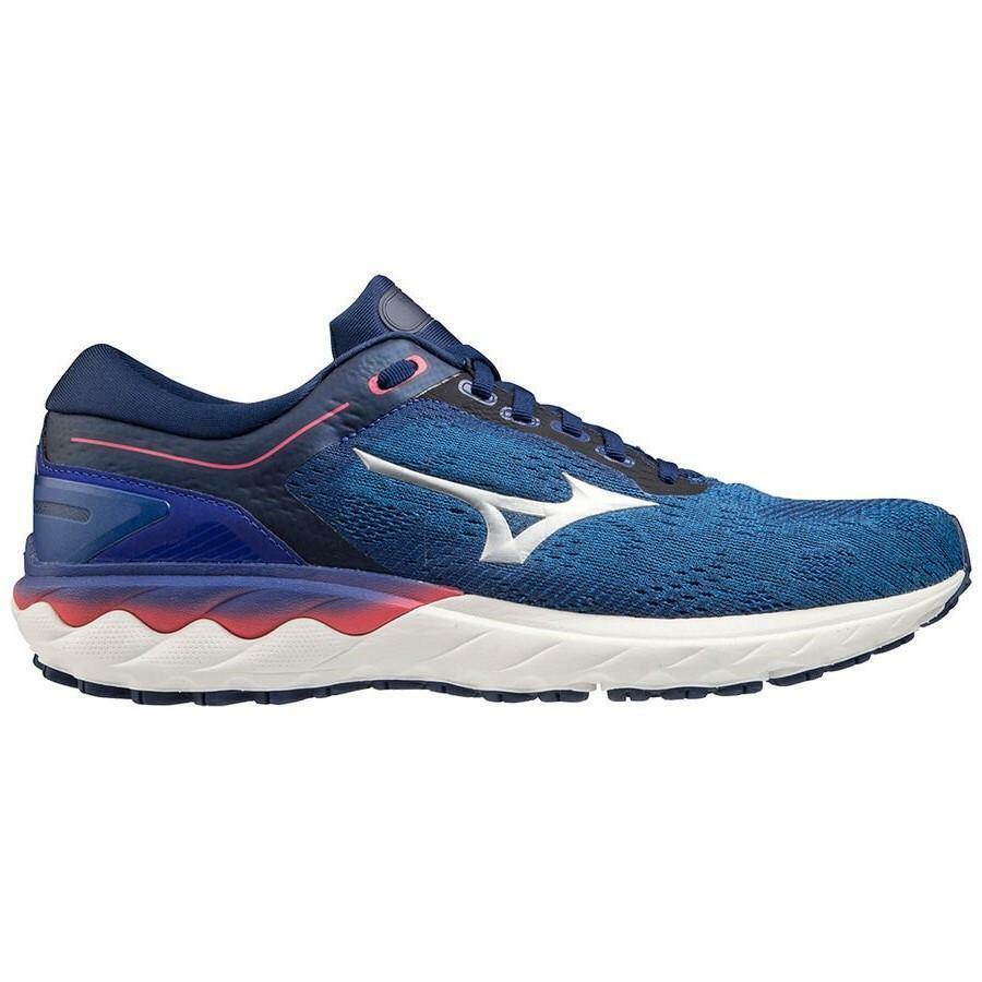 mizuno mizuno scarpa running wave skyrise azzurro