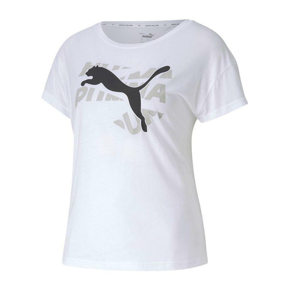 puma puma t-shirt donna modern sports bianco